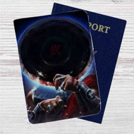 Kung Lao Mortal Kombat X Custom Leather Passport Wallet Case Cover