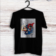 Wonder Woman and Superman lego Custom T Shirt Tank Top Men and Woman