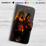Assassins Creed Syndicate The Frye Twins Custom Leather Wallet iPhone 4/4S 5S/C 6/6S Plus 7| Samsung Galaxy S4 S5 S6 S7 Note 3 4 5| LG G2 G3 G4| Motorola Moto X X2 Nexus 6| Sony Z3 Z4 Mini| HTC ONE X M7 M8 M9 Case