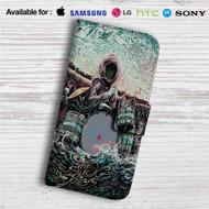 Black Keys Miles Tsang Canada Custom Leather Wallet iPhone 4/4S 5S/C 6/6S Plus 7| Samsung Galaxy S4 S5 S6 S7 Note 3 4 5| LG G2 G3 G4| Motorola Moto X X2 Nexus 6| Sony Z3 Z4 Mini| HTC ONE X M7 M8 M9 Case