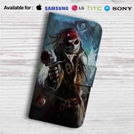 Captain Jack Skellington Custom Leather Wallet iPhone 4/4S 5S/C 6/6S Plus 7| Samsung Galaxy S4 S5 S6 S7 Note 3 4 5| LG G2 G3 G4| Motorola Moto X X2 Nexus 6| Sony Z3 Z4 Mini| HTC ONE X M7 M8 M9 Case