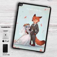 """Nick and Judy Maried Zootopia iPad 2 3 4 iPad Mini 1 2 3 4 iPad Air 1 2   Samsung Galaxy Tab 10.1"""" Tab 2 7"""" Tab 3 7"""" Tab 3 8"""" Tab 4 7"""" Case"""