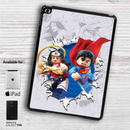 "Wonder Woman and Superman lego iPad 2 3 4 iPad Mini 1 2 3 4 iPad Air 1 2 | Samsung Galaxy Tab 10.1"" Tab 2 7"" Tab 3 7"" Tab 3 8"" Tab 4 7"" Case"