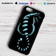 Cat Cheshire in Shadow iPhone 4/4S 5 S/C/SE 6/6S Plus 7| Samsung Galaxy S4 S5 S6 S7 NOTE 3 4 5| LG G2 G3 G4| MOTOROLA MOTO X X2 NEXUS 6| SONY Z3 Z4 MINI| HTC ONE X M7 M8 M9 M8 MINI CASE