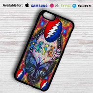Grateful Dead Bears iPhone 4/4S 5 S/C/SE 6/6S Plus 7| Samsung Galaxy S4 S5 S6 S7 NOTE 3 4 5| LG G2 G3 G4| MOTOROLA MOTO X X2 NEXUS 6| SONY Z3 Z4 MINI| HTC ONE X M7 M8 M9 M8 MINI CASE