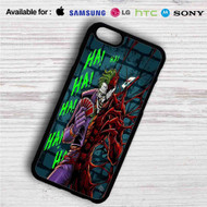 Joker and Carnage HaHaHa iPhone 4/4S 5 S/C/SE 6/6S Plus 7| Samsung Galaxy S4 S5 S6 S7 NOTE 3 4 5| LG G2 G3 G4| MOTOROLA MOTO X X2 NEXUS 6| SONY Z3 Z4 MINI| HTC ONE X M7 M8 M9 M8 MINI CASE