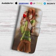 Chara Undertale Custom Leather Wallet iPhone 4/4S 5S/C 6/6S Plus 7| Samsung Galaxy S4 S5 S6 S7 Note 3 4 5| LG G2 G3 G4| Motorola Moto X X2 Nexus 6| Sony Z3 Z4 Mini| HTC ONE X M7 M8 M9 Case