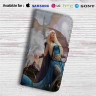 Daenerys Targaryen Game of Thrones Custom Leather Wallet iPhone 4/4S 5S/C 6/6S Plus 7| Samsung Galaxy S4 S5 S6 S7 Note 3 4 5| LG G2 G3 G4| Motorola Moto X X2 Nexus 6| Sony Z3 Z4 Mini| HTC ONE X M7 M8 M9 Case
