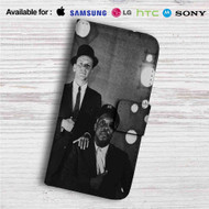 Frank Sinatra and Count Basie Custom Leather Wallet iPhone 4/4S 5S/C 6/6S Plus 7| Samsung Galaxy S4 S5 S6 S7 Note 3 4 5| LG G2 G3 G4| Motorola Moto X X2 Nexus 6| Sony Z3 Z4 Mini| HTC ONE X M7 M8 M9 Case