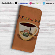 Friends Coffee Centrak Perk Custom Leather Wallet iPhone 4/4S 5S/C 6/6S Plus 7| Samsung Galaxy S4 S5 S6 S7 Note 3 4 5| LG G2 G3 G4| Motorola Moto X X2 Nexus 6| Sony Z3 Z4 Mini| HTC ONE X M7 M8 M9 Case