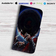 Kung Lao Mortal Kombat X Custom Leather Wallet iPhone 4/4S 5S/C 6/6S Plus 7| Samsung Galaxy S4 S5 S6 S7 Note 3 4 5| LG G2 G3 G4| Motorola Moto X X2 Nexus 6| Sony Z3 Z4 Mini| HTC ONE X M7 M8 M9 Case