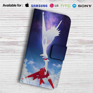 Latios and Latias Pokemon Custom Leather Wallet iPhone 4/4S 5S/C 6/6S Plus 7| Samsung Galaxy S4 S5 S6 S7 Note 3 4 5| LG G2 G3 G4| Motorola Moto X X2 Nexus 6| Sony Z3 Z4 Mini| HTC ONE X M7 M8 M9 Case