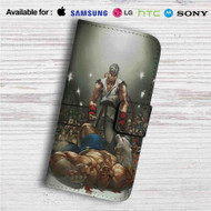 Ryu vs Sagat Street Fighter Custom Leather Wallet iPhone 4/4S 5S/C 6/6S Plus 7| Samsung Galaxy S4 S5 S6 S7 Note 3 4 5| LG G2 G3 G4| Motorola Moto X X2 Nexus 6| Sony Z3 Z4 Mini| HTC ONE X M7 M8 M9 Case