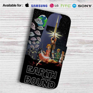 Star Wars Earthbound Custom Leather Wallet iPhone 4/4S 5S/C 6/6S Plus 7| Samsung Galaxy S4 S5 S6 S7 Note 3 4 5| LG G2 G3 G4| Motorola Moto X X2 Nexus 6| Sony Z3 Z4 Mini| HTC ONE X M7 M8 M9 Case