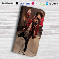 Brendon Urie Custom Leather Wallet iPhone 4/4S 5S/C 6/6S Plus 7| Samsung Galaxy S4 S5 S6 S7 Note 3 4 5| LG G2 G3 G4| Motorola Moto X X2 Nexus 6| Sony Z3 Z4 Mini| HTC ONE X M7 M8 M9 Case