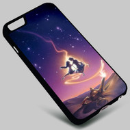 Aladdin on your case iphone 4 4s 5 5s 5c 6 6plus 7 Samsung Galaxy s3 s4 s5 s6 s7 HTC Case
