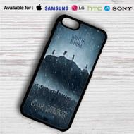 Winter is Here Game of Thrones Season 7 iPhone 4/4S 5 S/C/SE 6/6S Plus 7| Samsung Galaxy S4 S5 S6 S7 NOTE 3 4 5| LG G2 G3 G4| MOTOROLA MOTO X X2 NEXUS 6| SONY Z3 Z4 MINI| HTC ONE X M7 M8 M9 M8 MINI CASE