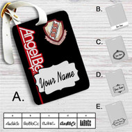 Angel Beats Custom Leather Luggage Tag