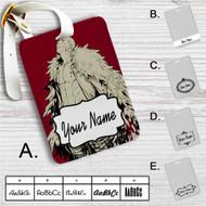 Doflamingo One Piece Custom Leather Luggage Tag