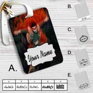 Hachimon Tonkou No Jin Naruto Custom Leather Luggage Tag