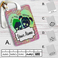 Harley Quinn and Joker Suicide Squad Custom Leather Luggage Tag