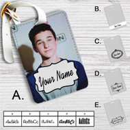 Hunter Rowland Custom Leather Luggage Tag