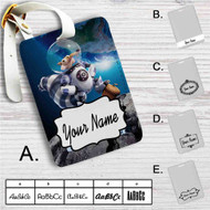 Ice Age Collision Course Astronaut Custom Leather Luggage Tag