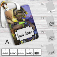 Lucio Overwatch Custom Leather Luggage Tag