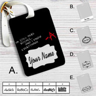 Pretty Little Liars Bitches Custom Leather Luggage Tag