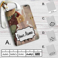Sage of Six Paths Mode Rikudou Sennin Naruto Custom Leather Luggage Tag