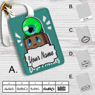 Septiceye Sam and Tiny Box Tim Custom Leather Luggage Tag