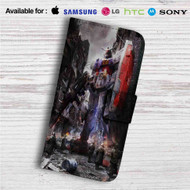 Gundam Guy Custom Leather Wallet iPhone 4/4S 5S/C 6/6S Plus 7| Samsung Galaxy S4 S5 S6 S7 Note 3 4 5| LG G2 G3 G4| Motorola Moto X X2 Nexus 6| Sony Z3 Z4 Mini| HTC ONE X M7 M8 M9 Case