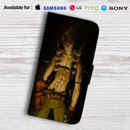 Junkrat Overwatch Custom Leather Wallet iPhone 4/4S 5S/C 6/6S Plus 7| Samsung Galaxy S4 S5 S6 S7 Note 3 4 5| LG G2 G3 G4| Motorola Moto X X2 Nexus 6| Sony Z3 Z4 Mini| HTC ONE X M7 M8 M9 Case