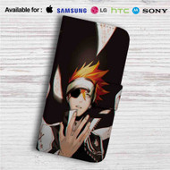 Lavi D Gray Man Custom Leather Wallet iPhone 4/4S 5S/C 6/6S Plus 7| Samsung Galaxy S4 S5 S6 S7 Note 3 4 5| LG G2 G3 G4| Motorola Moto X X2 Nexus 6| Sony Z3 Z4 Mini| HTC ONE X M7 M8 M9 Case