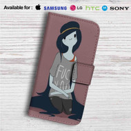 Marceline The Vampire Queen Custom Leather Wallet iPhone 4/4S 5S/C 6/6S Plus 7| Samsung Galaxy S4 S5 S6 S7 Note 3 4 5| LG G2 G3 G4| Motorola Moto X X2 Nexus 6| Sony Z3 Z4 Mini| HTC ONE X M7 M8 M9 Case