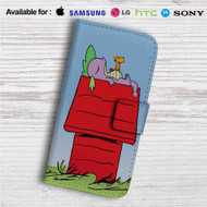 My Little Pony as Snoopy Custom Leather Wallet iPhone 4/4S 5S/C 6/6S Plus 7| Samsung Galaxy S4 S5 S6 S7 Note 3 4 5| LG G2 G3 G4| Motorola Moto X X2 Nexus 6| Sony Z3 Z4 Mini| HTC ONE X M7 M8 M9 Case