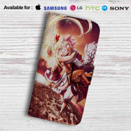 Natsu Dragneel and Lucy Fairy Tail Custom Leather Wallet iPhone 4/4S 5S/C 6/6S Plus 7| Samsung Galaxy S4 S5 S6 S7 Note 3 4 5| LG G2 G3 G4| Motorola Moto X X2 Nexus 6| Sony Z3 Z4 Mini| HTC ONE X M7 M8 M9 Case