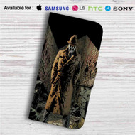 Rorschach Custom Leather Wallet iPhone 4/4S 5S/C 6/6S Plus 7| Samsung Galaxy S4 S5 S6 S7 Note 3 4 5| LG G2 G3 G4| Motorola Moto X X2 Nexus 6| Sony Z3 Z4 Mini| HTC ONE X M7 M8 M9 Case