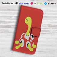 Shuckle Pokemon Custom Leather Wallet iPhone 4/4S 5S/C 6/6S Plus 7| Samsung Galaxy S4 S5 S6 S7 Note 3 4 5| LG G2 G3 G4| Motorola Moto X X2 Nexus 6| Sony Z3 Z4 Mini| HTC ONE X M7 M8 M9 Case