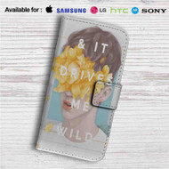 Troye Sivan Custom Leather Wallet iPhone 4/4S 5S/C 6/6S Plus 7| Samsung Galaxy S4 S5 S6 S7 Note 3 4 5| LG G2 G3 G4| Motorola Moto X X2 Nexus 6| Sony Z3 Z4 Mini| HTC ONE X M7 M8 M9 Case