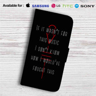 Twenty One Pilots Quotes Custom Leather Wallet iPhone 4/4S 5S/C 6/6S Plus 7| Samsung Galaxy S4 S5 S6 S7 Note 3 4 5| LG G2 G3 G4| Motorola Moto X X2 Nexus 6| Sony Z3 Z4 Mini| HTC ONE X M7 M8 M9 Case