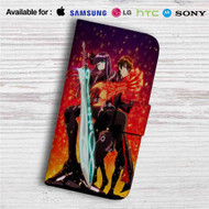 Twin Star Exorcists Custom Leather Wallet iPhone 4/4S 5S/C 6/6S Plus 7| Samsung Galaxy S4 S5 S6 S7 Note 3 4 5| LG G2 G3 G4| Motorola Moto X X2 Nexus 6| Sony Z3 Z4 Mini| HTC ONE X M7 M8 M9 Case
