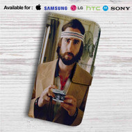 Wes Anderson Custom Leather Wallet iPhone 4/4S 5S/C 6/6S Plus 7| Samsung Galaxy S4 S5 S6 S7 Note 3 4 5| LG G2 G3 G4| Motorola Moto X X2 Nexus 6| Sony Z3 Z4 Mini| HTC ONE X M7 M8 M9 Case