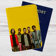 Crown The Empire Custom Leather Passport Wallet Case Cover