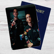 G-Eazy & Logic The Endless Summer Tour Custom Leather Passport Wallet Case Cover