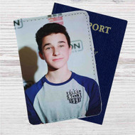 Hunter Rowland Custom Leather Passport Wallet Case Cover