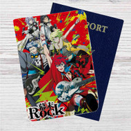 Samurai Jam Bakumatsu Rock Custom Leather Passport Wallet Case Cover