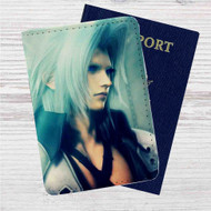 Sephiroth Final Fantasy VII Custom Leather Passport Wallet Case Cover