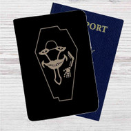 The Laughing Coffin Sword Art Online Custom Leather Passport Wallet Case Cover