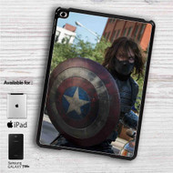 "Bucky With Shield iPad 2 3 4 iPad Mini 1 2 3 4 iPad Air 1 2 | Samsung Galaxy Tab 10.1"" Tab 2 7"" Tab 3 7"" Tab 3 8"" Tab 4 7"" Case"